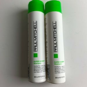 Lot of 2 Paul Mitchell Super Skinny Shampoo 10.14